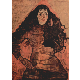 Egon Schiele - Portrait of Trude Engel na internet