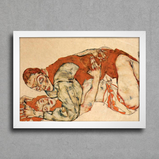 Egon Schiele - Sexual Act