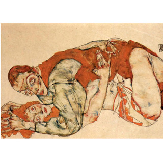 Egon Schiele - Sexual Act na internet