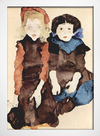 Egon Schiele - Two Little Girls - loja online