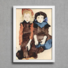 Egon Schiele - Two Little Girls - comprar online
