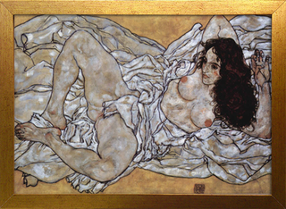 Egon Schiele - Woman Lying Down - loja online