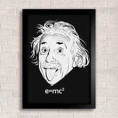 Poster Albert Einstein na internet