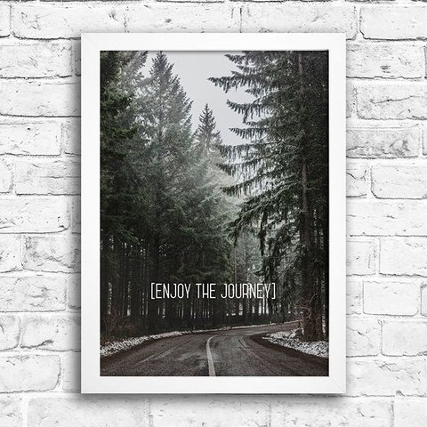 Poster Enjoy the journey - comprar online