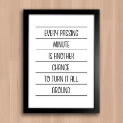 Poster Every Passing Minute - comprar online
