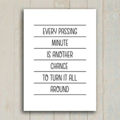 Imagem do Poster Every Passing Minute