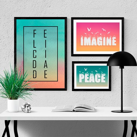 Kit Imagine Peace - comprar online