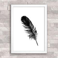 Poster Feather Minimal - comprar online