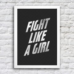 Poster Fight Like a Girl - comprar online