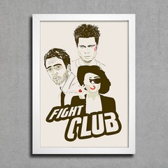 Poster Fight Club na internet