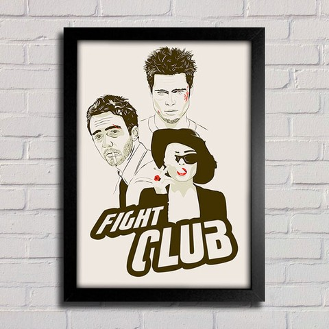 Poster Fight Club - comprar online