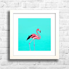 Quadro Flamingo na internet