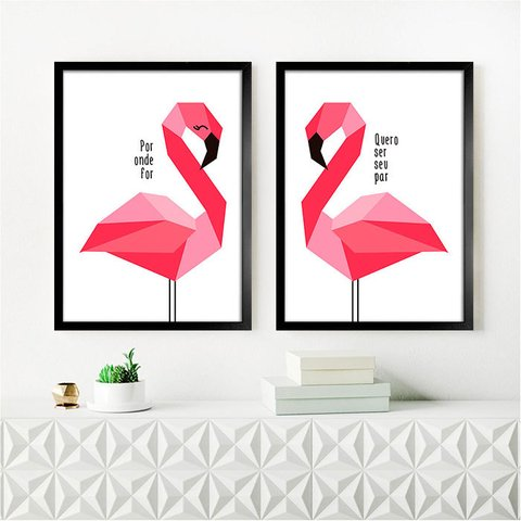 Kit Flamingo Por onde for - comprar online
