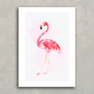 Poster Flamingo Watercolor - loja online