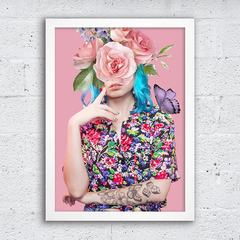 Poster Floral T-Shirt
