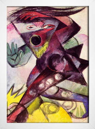Franz Marc - Caliban - Personagem de Shakespeare - loja online