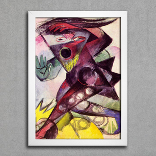 Franz Marc - Caliban - Personagem de Shakespeare - comprar online