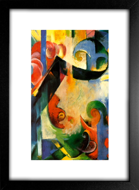 Kit Abstrato - Franz Marc na internet