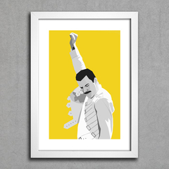 Poster Queen - Freddie Mercury na internet