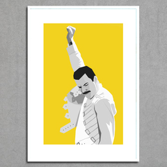 Imagem do Poster Queen - Freddie Mercury