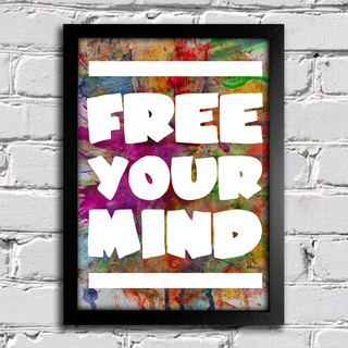 Poster Free Your Mind na internet