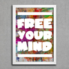 Poster Free Your Mind - comprar online