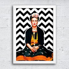 Poster Frida Chevron na internet