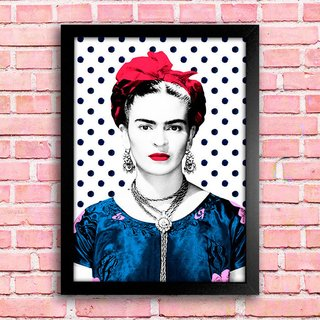 Poster Frida Polka Dot na internet