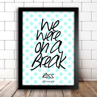 Poster Friends - Ross - comprar online