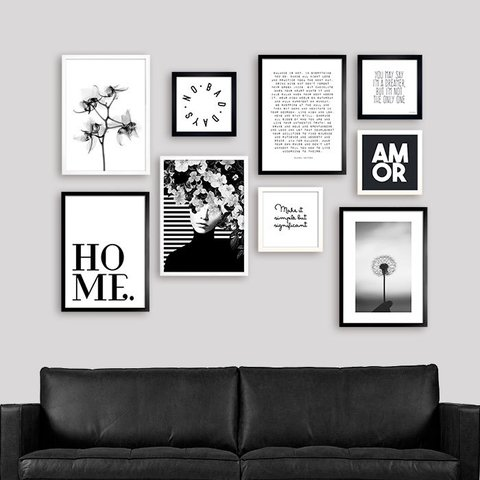 Gallery Wall Black & White 1