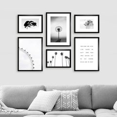 Gallery Wall Black & White 2