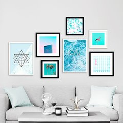 Gallery Wall Blue