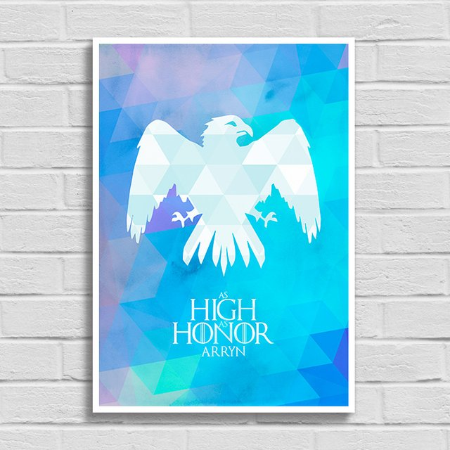 Poster Game of Thrones - As High as Honor - Arryn