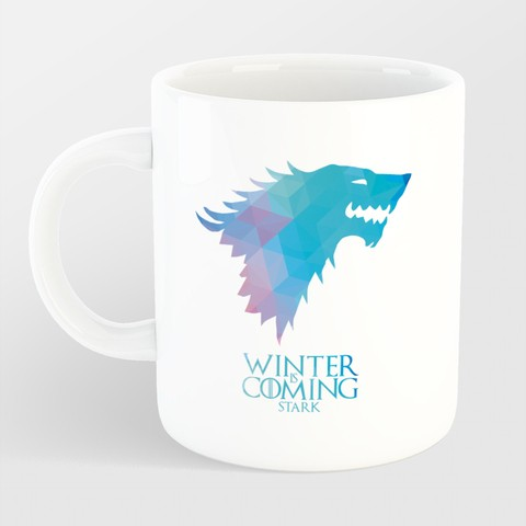 Caneca Game of Thrones - Winter is Coming na internet