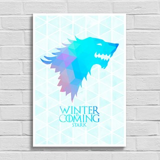 Imagem do Poster Game of Thrones - Winter is Coming - Stark
