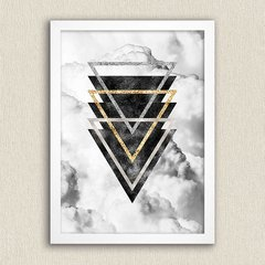 Poster Geometric Clouds I - comprar online