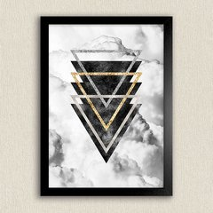 Poster Geometric Clouds I