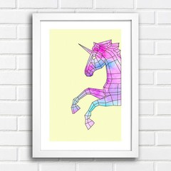 Poster Geometric Unicorn na internet