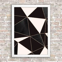 Poster Geometric Abstract Foil 10