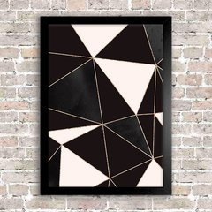 Poster Geometric Abstract Foil 10 - comprar online