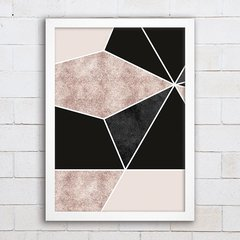 Poster Geometric Abstract Foil 3