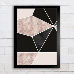 Poster Geometric Abstract Foil 3 - comprar online