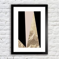 Poster Geometric Abstract Foil 9