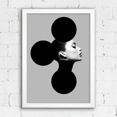Poster Girl Abstract Circles - comprar online
