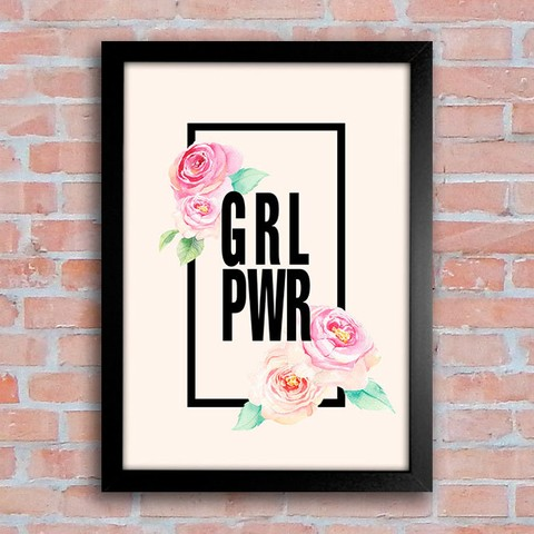Poster Girl Power - comprar online