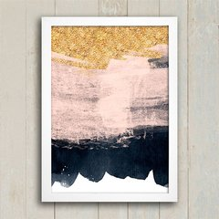Poster Gold Watercolor - comprar online