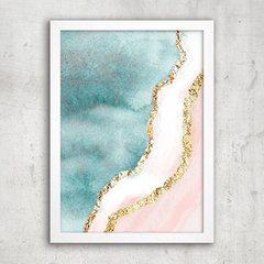Poster Gold Waves - comprar online