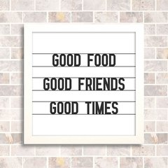 Quadro Good Friends - comprar online