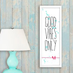 Poster Good Vibes Only - Birds - comprar online