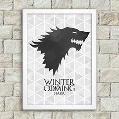 Poster Winter is Coming - Stark - comprar online